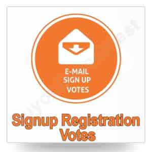 Signup/Registration Votes