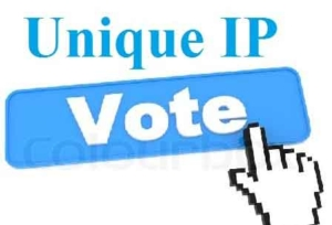 unique IP-votes