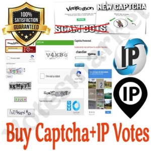 Buy IP+Captcha votes